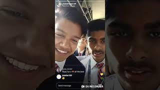 Riyaz.14 live in Instagram_with his friends||board exams||short live||Riyaz.14_fp
