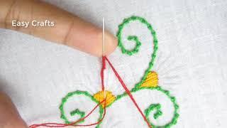 Hand Embroidery, Nakshi kantha border line design