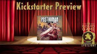 Posthuman Saga - Board Game Spotlight