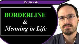 Borderline Personality Disorder and Meaning in Life