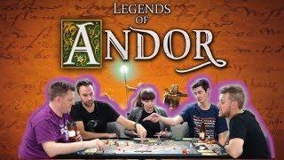 Legends of Andor - Legend 2 Board Game Session
