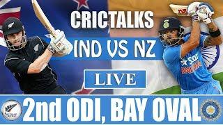 Live: IND Vs NZ 2nd ODI | Live Scores and Commentary | 2019 Series
