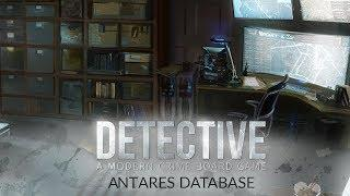 Detective: A Modern Crime Board Game - Antares Database