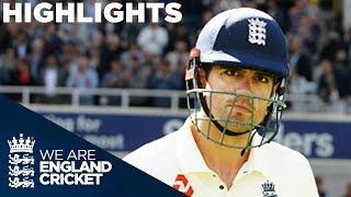 India Dominate Despite Cook's 71 | England v India 5th Test Day 1 2018 - Highlights