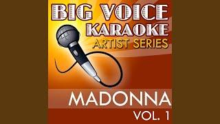 Borderline (In the Style of Madonna) (Karaoke Version)