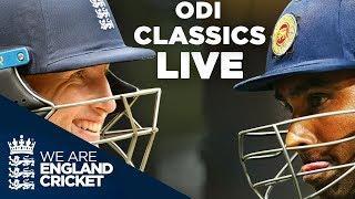 LIVE ODI Classics | Great Matches Between England & Sri Lanka