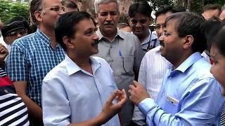 कुछ दिनों में और सस्ती हो सकती है पानी बिजली    Arvind kejriwal visit Delhi Jal Board today Speech
