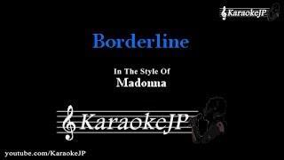Borderline (Karaoke) - Madonna