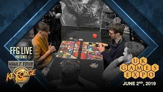 FFGLive: UK Games Expo: KeyForge Vault Tour