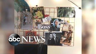 How to make a DIY vision board wall panel