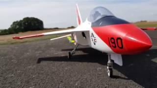 Flexjet EDF-Jet Flight Video with On-Board Camera