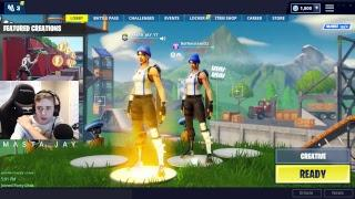 Fortnite Live Stream // Duos and Solos and Squads // New Drift Board