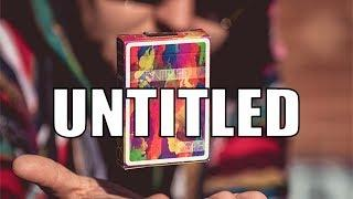 Deck Review - Untitled Playing Cards by Adam Borderline