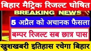 Bihar Matric Result Date, 10वीं का रिजल्ट तिथि घोषित, Check Matric Result 2019, Bseb 10th Result