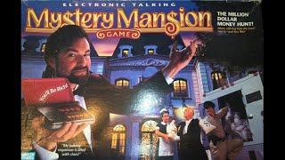 Ep. 194: Electronic Mystery Mansion Board Game Review (Parker Brothers 1996)