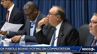 Oklahoma commutation hearing