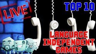 Top 10 Language Independent Games