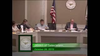 ACTVAuburn Live Stream Board of Selectmen - October 28, 2019