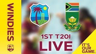 FULL MATCH  | Windies Women v South Africa | 1st T20I  - Sandals International Home Series