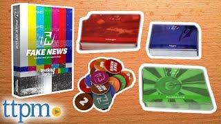 Fake News Card Game Review | Board Games | Breaking Games