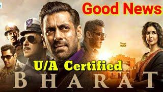 Bharat Film | Censor Board | U/A Certificate | Salman Khan | Katrina Kaif | Letest Video 2019