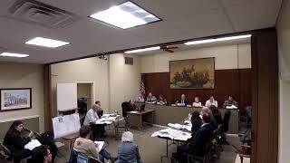 Planning Board November 4, 2019 Flemington Borough Live Stream