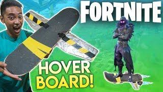*EPIC* FORTNITE HOVERBOARD in REAL LIFE!