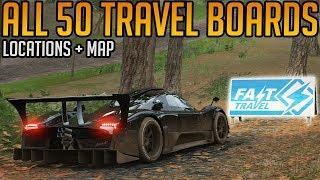 Forza Horizon 4: All 50 Travel Boards Locations Guide