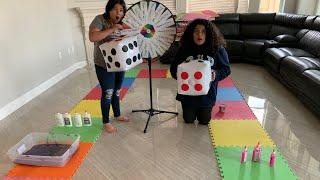 GIANT BOARD GAME SLIME CHALLENGE