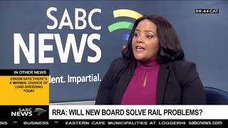 RRA: Will new board solve rail problems?