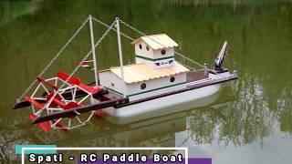 RC Paddle Boat - On board video