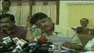DK Shivakumar  Press Meet l Bangalore News l heavy water board l Ytv network kannada