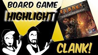 Board Game Highlight: Clank! A Deck-Building Adventure
