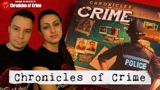 Chronicles of Crime Board Game Video Preview