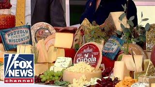 'Fox & Friends' celebrates National Cheese Day with a 16-foot cheese board