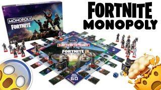 NEW FORTNITE MONOPOLY BOARD GAME