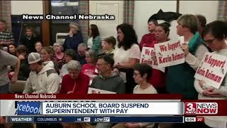 Auburn school board suspends Superintendent over video incident involving school fight