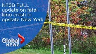 NTSB provides update on fatal limo crash in upstate New York
