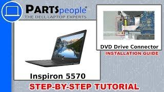 Inspiron 15-5570 W/ DVD Drive (P75F001) DVD Drive Connector Board How-To Video Tutorial