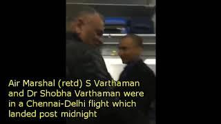 Abhinandan's parents get standing ovation on board flight to Delhi