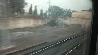 Mumbai Rajdhani..first run ..on board live coverage (4)shopping Dhaulapur..