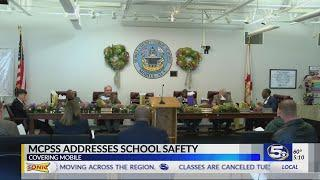 VIDEO: Mobile County Public School System School Board approves new safety grant