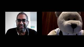 Bobby the Bear LinkedIn Video Chat with Bobby Umar about Boardgames and TedTalks