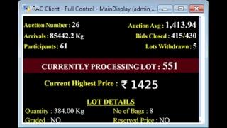 SPICES BOARD E-AUCTION PUTTADY 13.02.2019 HEADER LIVE