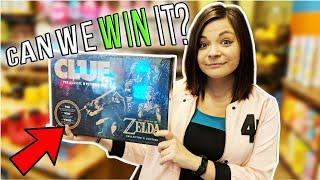 Can We Win it? Zelda Clue Board Game At Knuckleheads Arcade. ArcadeJackpotPro