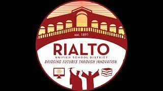 "Rialto USD ""LIVE"" Meeting of the Board of Education Sep-10-2018"