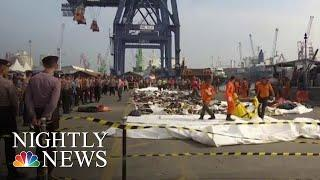 Lion Air Technical Director Fired, Search For Answers In Plane Crash Continues | NBC Nightly News