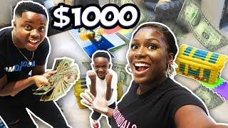 GIANT GAME BOARD CHALLENGE WINNER WINS $$$ (GIVEWAY WINNER)