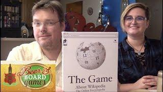 Wikipedia The Game | Beer and Board Games