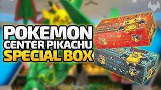 Pokemon Center Pikachu Special Box  - Pokemon Trading Card Game - Deutsch German - Dhalucard